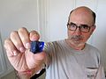 Jay Boyle with rough gemstone.jpg