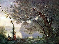 Jean-Baptiste Camille Corot: Recollection of Mortefontaine