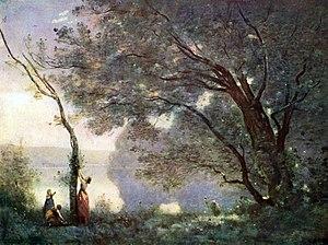 Souvenir de Mortefontaine - Image: Jean Baptiste Camille Corot 012