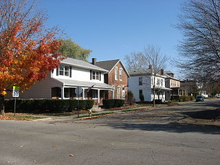 Jefferson Historic District (Lafayette, Indiana) United States historic place