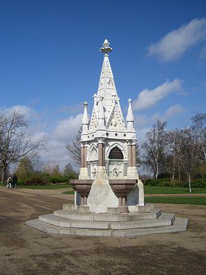 Cowasji Jehangir Readymoney - Fountain erected by Cowasji Jehangir Readymoney in Regent's Park, London