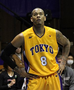 Jeremy Tyler - Tyler during his tenure with Tokyo Apache