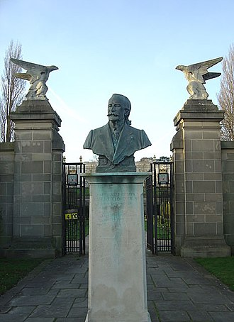 Jesse Boot, 1st Baron Trent - Memorial in Highfields Park