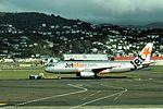 Jetstar Airbus A320-232 VH-VQB JST287 WLG-CHC (10013264036).jpg