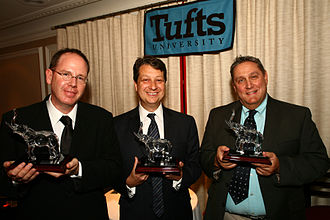 P.T. Barnum Awards - Albert Berger, Neal Shapiro, Jim Nicola, 2008 P.T. Barnum Award winners.
