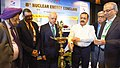Jitendra Singh lighting the lamp to inaugurate the 8th Nuclear Energy Conclave, in New Delhi.jpg