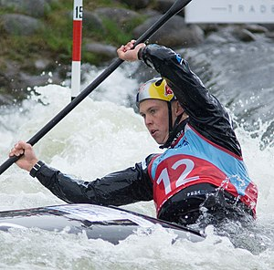 Joe Clarke (canoeist) - Clarke at the 2016 European Championships