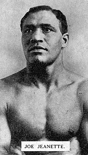 Joe Jeanette American boxer
