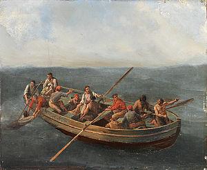 Johannes Hermanus Koekkoek - Image: Johannes Hermanus Koekkoek (attr) Schiffbrüchige