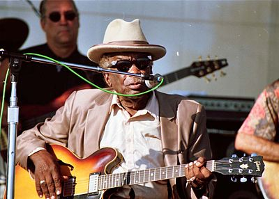 Picture of a band or musician: John Lee Hooker