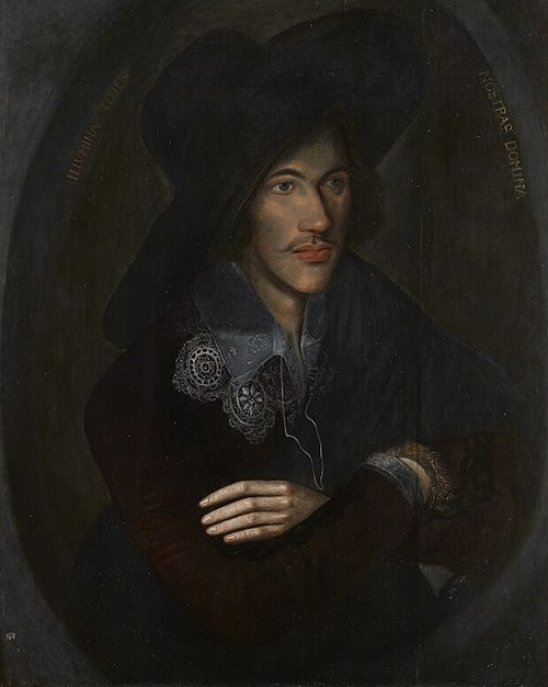 A portrait of Donne as a young man, c. 1595, in the National Portrait Gallery, London John Donne BBC News.jpg