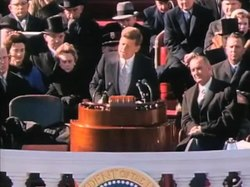 Fil:John F. Kennedy Inauguration Speech.ogv