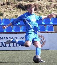 John Tordar Poulsen a Faroese football player.jpg