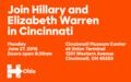 Join Hillary and Elizabeth Warren in Cincinnati.png