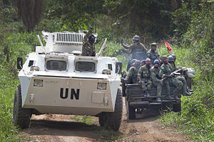 Allied Democratic Forces insurgency - Image: Joint MONUSCO FARDC operation against ADF in Beni (13246914484)