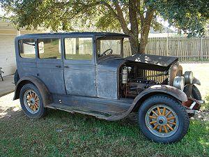 Jordan Motor Car Company - A 1928 Jordan Sedan prior to restoration work