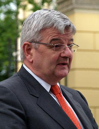 Second Schröder cabinet - Image: Joschka Fischer