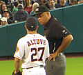 Jose Altuve and Kerwin Danley 2013.jpg