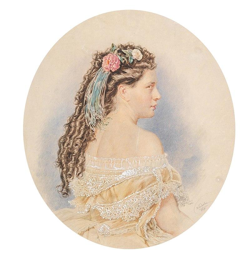 Josef Kriehuber Frauenporträt 1867.jpg