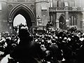 Joseph Lister, Baron Lister's funeral procession leaving Wes Wellcome V0027888.jpg