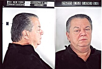 Bonanno crime family - FBI mugshot of Joseph Massino