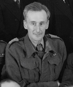 Józef Czapski - Czapski in uniform, January, 1943