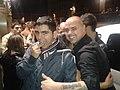 Juan Magan, junto a un fan.jpg