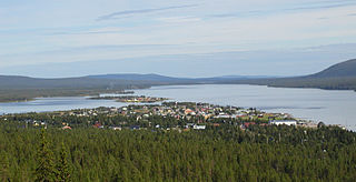 Jukkasjärvi Place in Lapland, Sweden