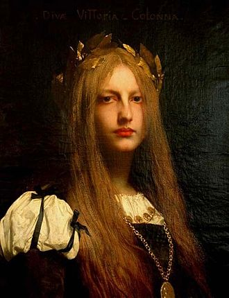 Jules Joseph Lefebvre - Vittoria Colonna, (1861)