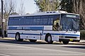 Junee Buses PMCA 'XL' bodied Hino RG197K parked in a bus stop on Morrow Street in Wagga Wagga.jpg