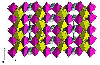Junitoite - Image: Junitoite Crystal Structure
