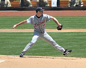 Justin Verlander - Verlander pitching in 2008