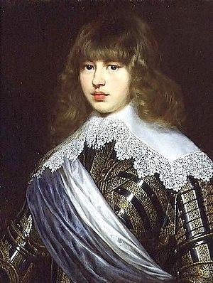 Justus Sustermans - Justus Susterman's portrait of Prince Valdemar
