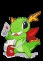 KDE mascot Konqi for KDE maillist.png