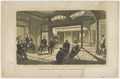 KITLV - 36D540 - Conference of the Commodore (Matthew Calbraith) Perry and the Japanese Board - Lithography - Circa 1870.tif