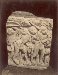 KITLV 87816 - Isidore van Kinsbergen - Relief of Prambanan, transferred to Magelang - Before 1900.tif