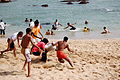 Kabadi Kabbadi Cabadi Sport on a Tamil Nadu Beach India.jpg