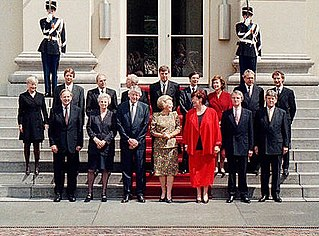 Second Kok cabinet Dutch cabinet (1994-1998)