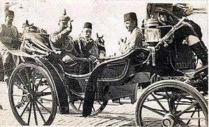 Kaiser und Sultan - postcard