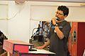 Kalyan Sarkar - Introductory Address - Wikilearnopedia - Oxford Bookstore - Kolkata 2015-08-23 3498.JPG