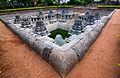 Kalyani (temple tank) in Hoysala style at Hulikere.jpg