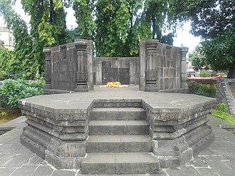 Kanhoji Angre - The Samadhi (mausoleum) of Kanhoji Angre at Alibag, Maharashtra.