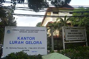 Kantor kelurahan Gelora