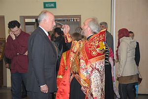 Prince Karl Emich of Leiningen - Conversion to Orthodoxy