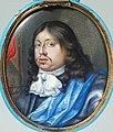 Karl X Gustav (1622-1660), miniatyrporträtt i emalj av Pierre Signac - Nationalmuseum.jpg