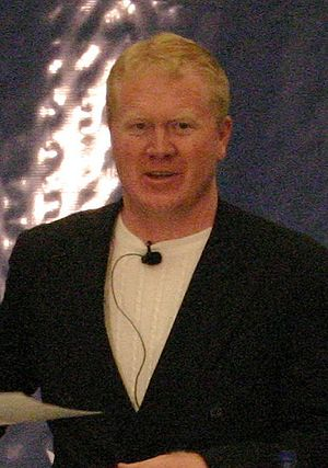 Karl Mecklenburg - Mecklenburg at a speaking engagement, November 2007.