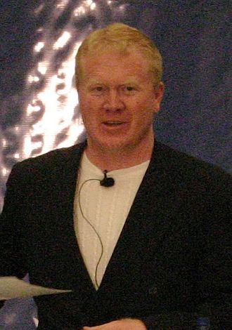 Karl Mecklenburg - Mecklenburg at a speaking engagement, November 2007.