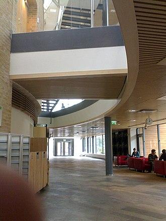 Karlstad University - Karlstad University, entrance hall.