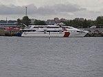 Karolin at Quay 1 in Patareisadam Tallinn 13 July 2017.jpg