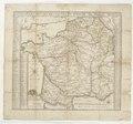 Karta över postrouterna i Frankrike, 1705 - Skoklosters slott - 97965.tif
